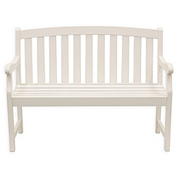 Decor Therapy Marly 2-Seat Outdoor Bench