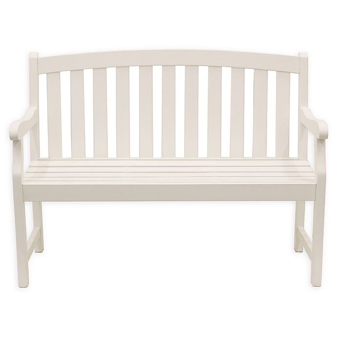 Alternate image 1 for Decor Therapy Marly 2-Seat Outdoor Bench