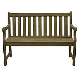 Decor Therapy Henley 2-Seat Outdoor Bench