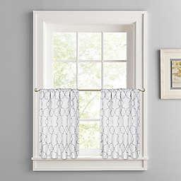Colordrift Mandy Rod Pocket Window Curtain Tier Pair