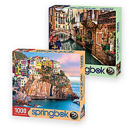 Springbok® Travel Italy 1000-Piece Jigsaw Puzzles (Set of 2)