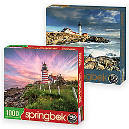 Springbok® Lighthouse 2000-Piece Jigsaw Puzzles (Set of 2)