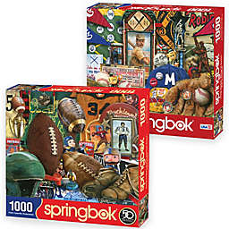 Springbok® Vintage Sports 2000-Piece Jigsaw Puzzles (Set of 2)