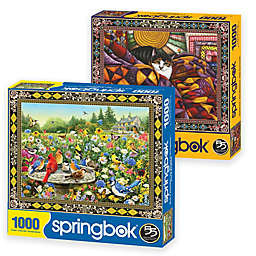 Springbok® Birds and Cats 2000-Piece Jigsaw Puzzles (Set of 2)