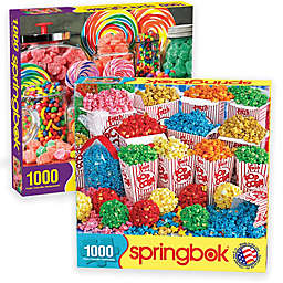 2-Pack 1,000-Piece Sweets Jigsaw Puzzles