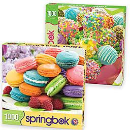 2-Pack 1,000-Piece Sweet Treats Jigsaw Puzzles