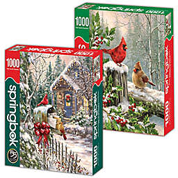 Winter Birds 2-Pack 1,000-Piece Jigsaw Puzzles