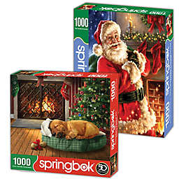 Holiday Cheer 2-Pack 1,000-Piece Jigsaw Puzzles