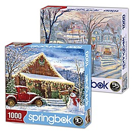 Snow 2-Pack 1,000-Piece Jigsaw Puzzles