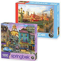 Travel Europe 2-Pack 1,500-Piece Jigsaw Puzzles
