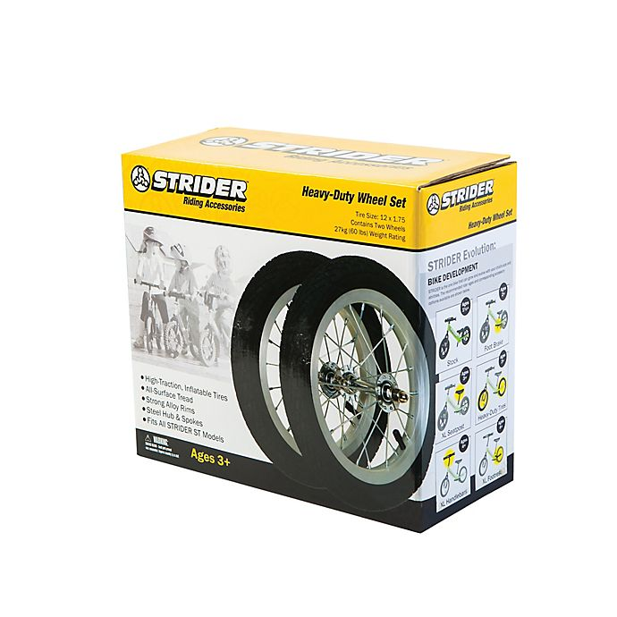 Alternate image 1 for Strider® Heavy-Duty Replacement Wheel Set