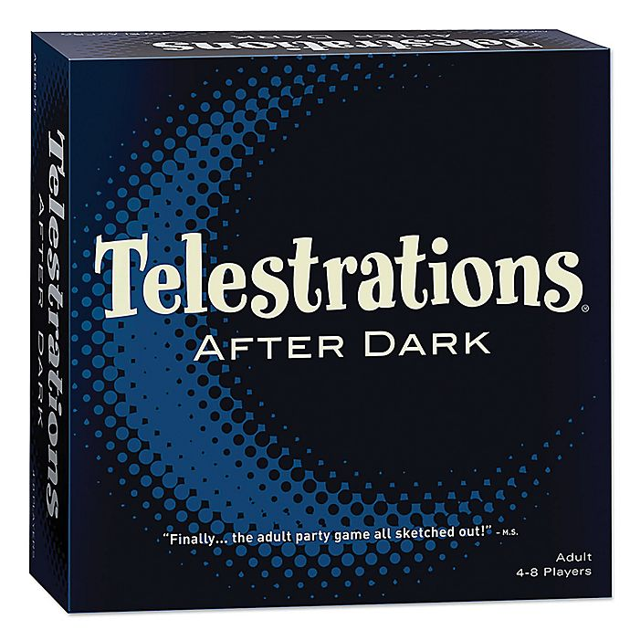 Alternate image 1 for Telestrations® After Dark® Adult Party Game