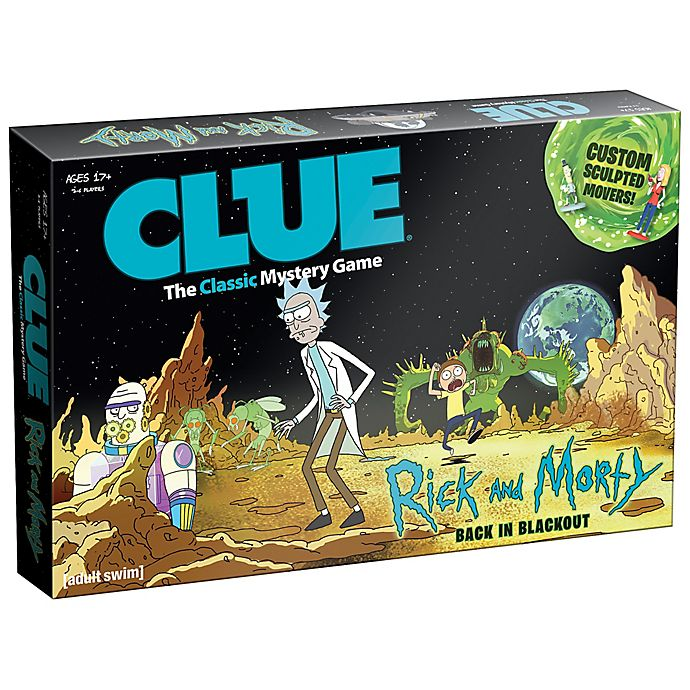 Alternate image 1 for Clue® Rick and Morty™ Edition Board Game