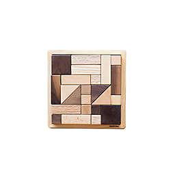 Eguchi Toys 25-Piece Large Wood Block Puzzle
