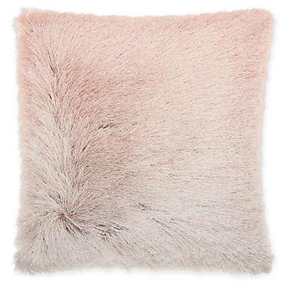 Mina Victory By Nourison Celadon Illusion Shag Throw Pillow