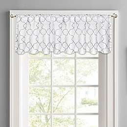 Colordrift Mandy Rod Pocket Window Valance