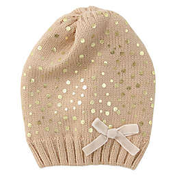 ff31191f4d8 Rising Star trade  Shimmering Knit Beanie in Gold