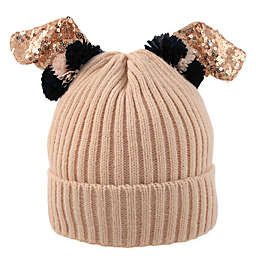 Rising Star™ Bunny Ear Beanie in Pink