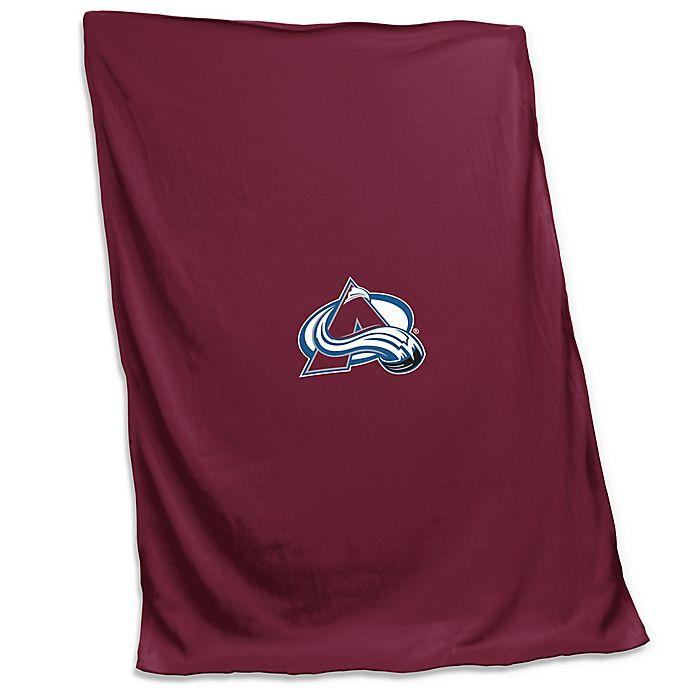 Alternate image 1 for NHL Colorado Avalanche Sweatshirt Blanket