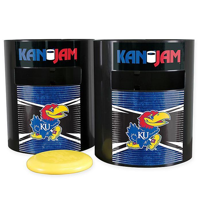 Alternate image 1 for University of Kansas Disc Jam Game Set