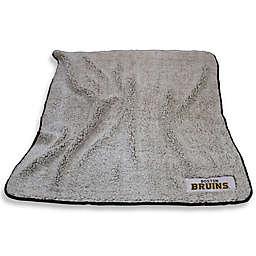 NHL Boston Bruins Frosty Fleece Throw Blanket