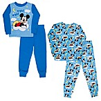 Disney® Size 3T 4-Piece Mickey Mouse Pajama Set