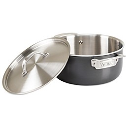 Viking® 5-Ply Stainless Cookware with Anodized Exterior & Alloy Core 5 Qt. Dutch Oven