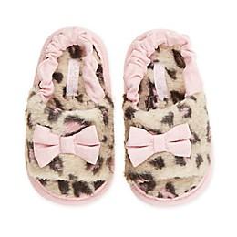 Capelli New York Leopard Fur Slide in Pink