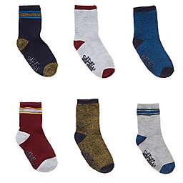 Capelli New York Size 3-12M 6-Pack Athletic Stripe Socks