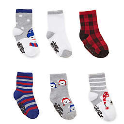 Capelli New York 6-Pack Polar Bear Feather Socks
