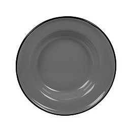 Certified International Enamelware Salad Plates in Grey (Set of 6)