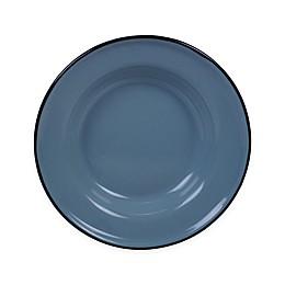 Certified International Enamelware Salad Plates in Teal (Set of 6)
