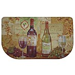 Home Dynamix Dumont Wine 31.5-Inch x 19.6-Inch Kitchen Slice Mat