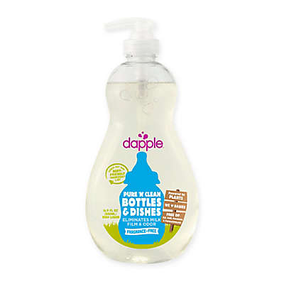 dapple® 16.9 oz. Pure 'N' Clean Baby Bottles and Dishes Dish Liquid Cleaner in Fragrance-Free