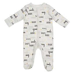 Sterling Baby Love Footie in Ivory