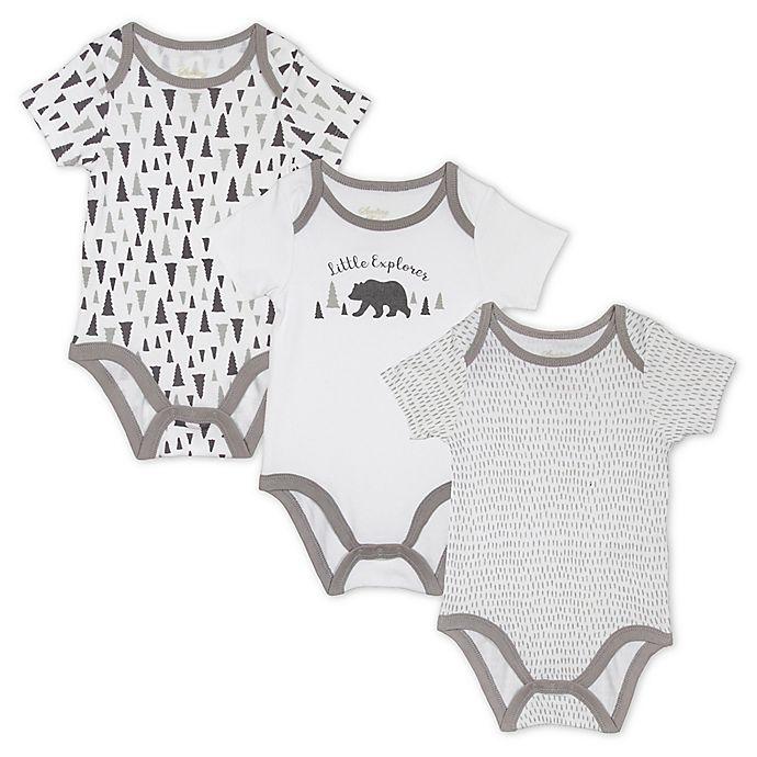 Alternate image 1 for Sterling Baby 3-Pack Bears Bodysuits