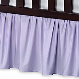 T. L. Care Cotton Percale Crib Bed Skirt
