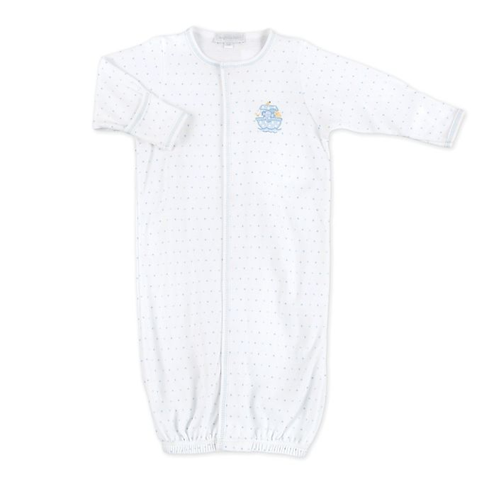 Alternate image 1 for Magnolia Baby™ Noah's Friends Converter Gown in Blue
