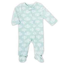 aden® by aden + anais® Long-Sleeve Cloud Footie in Mint
