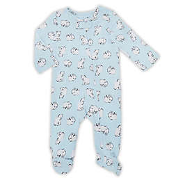 aden® by aden + anais® Long-Sleeve Bears Footie in Blue