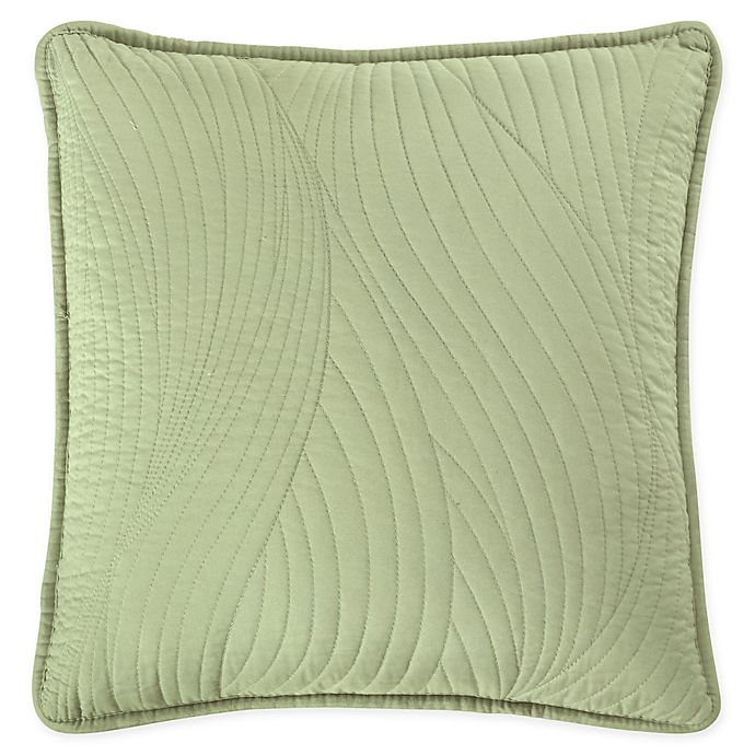 Alternate image 1 for Brielle Stream Embroidered Square Throw Pillow