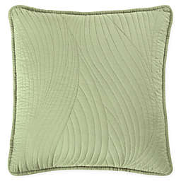 Brielle Stream Embroidered Square Throw Pillow
