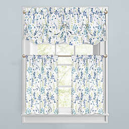 Meadow Blooms Window Curtain Tiers and Valance