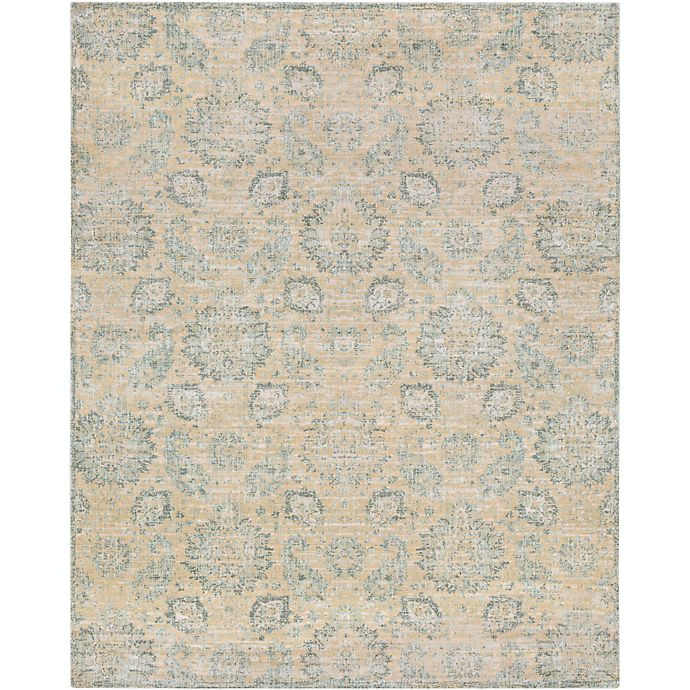 Alternate image 1 for Surya Carlisle Classic Floral 7-Foot 10-Inch x 9-Foot 10-Inch Area Rug in Cream