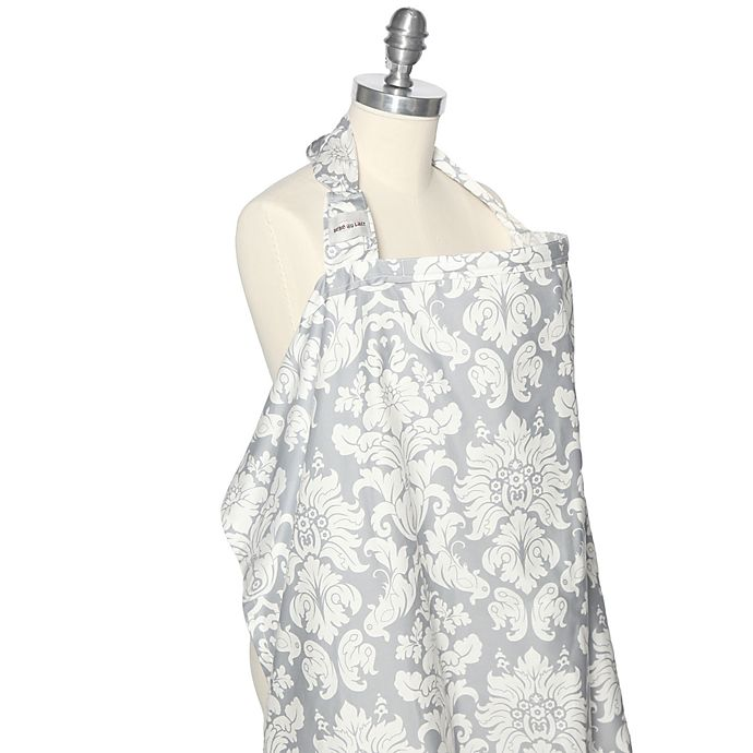 Alternate image 1 for Bebe au Lait® Nursing Cover in Chateau Silver