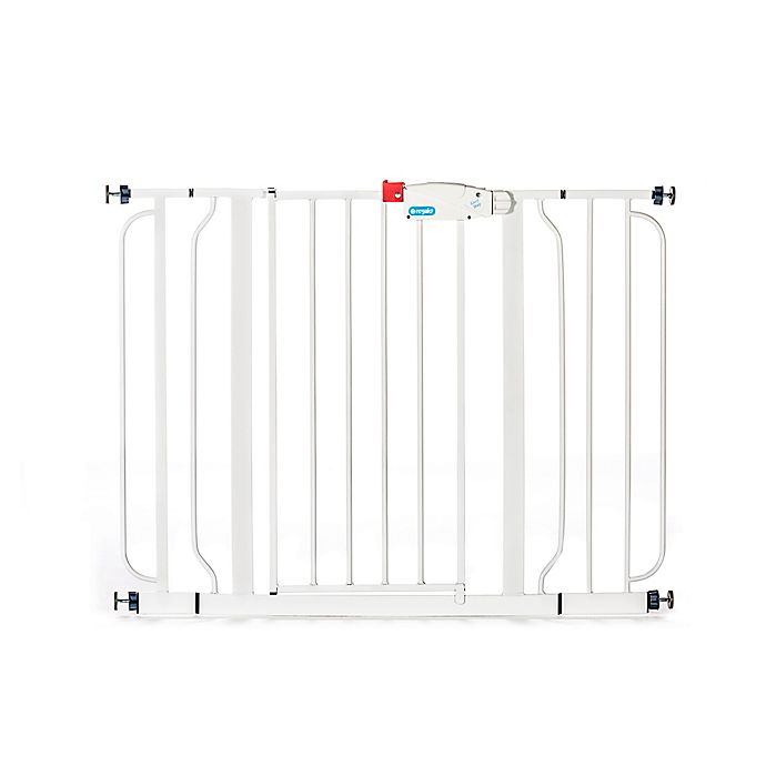 Alternate image 1 for Regalo® Easy Step Metal Walk-Through Wide Gate