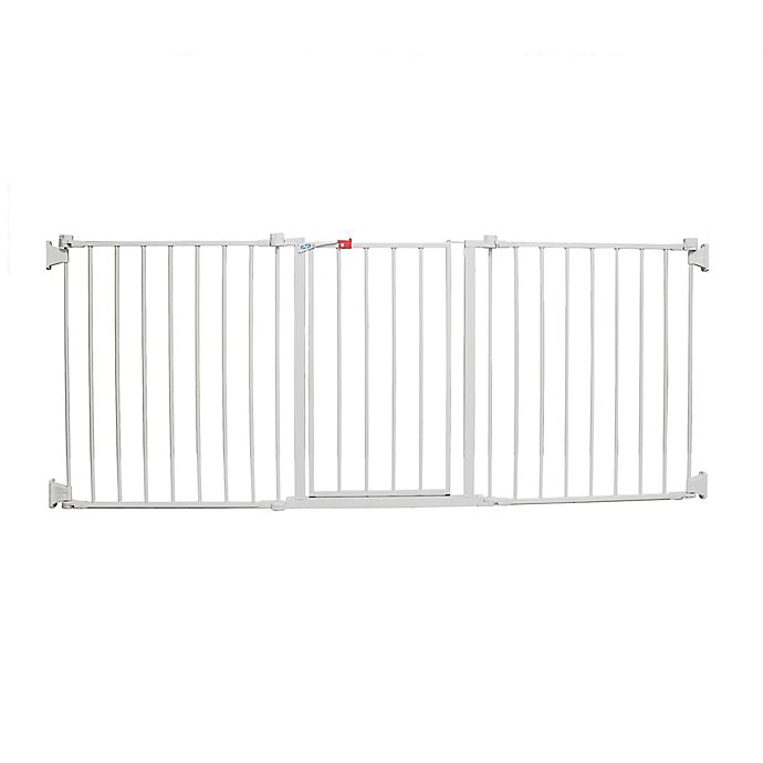 Alternate image 1 for Regalo® Flexi Walk-Through Extra Wide Gate