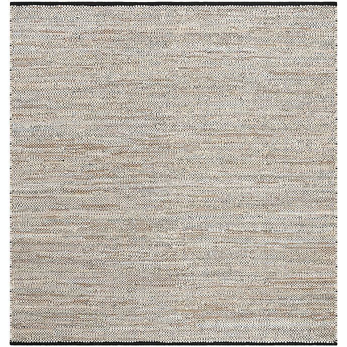 Alternate image 1 for Safavieh Vintage Leather 6' x 6' Trevor Rug in Beige