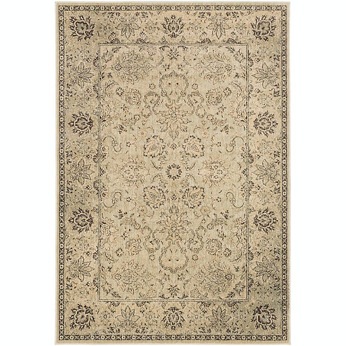 Alternate image 1 for Surya Hathaway Floral 1'10 x 2'11 Accent Rug in Beige/Brown