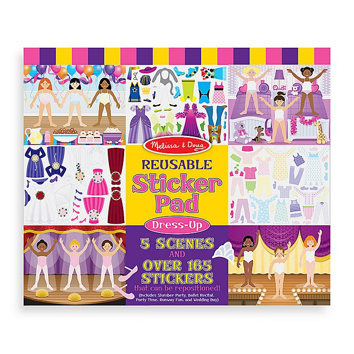 Alternate image 1 for Melissa & Doug® Sticker Pad Dress Up